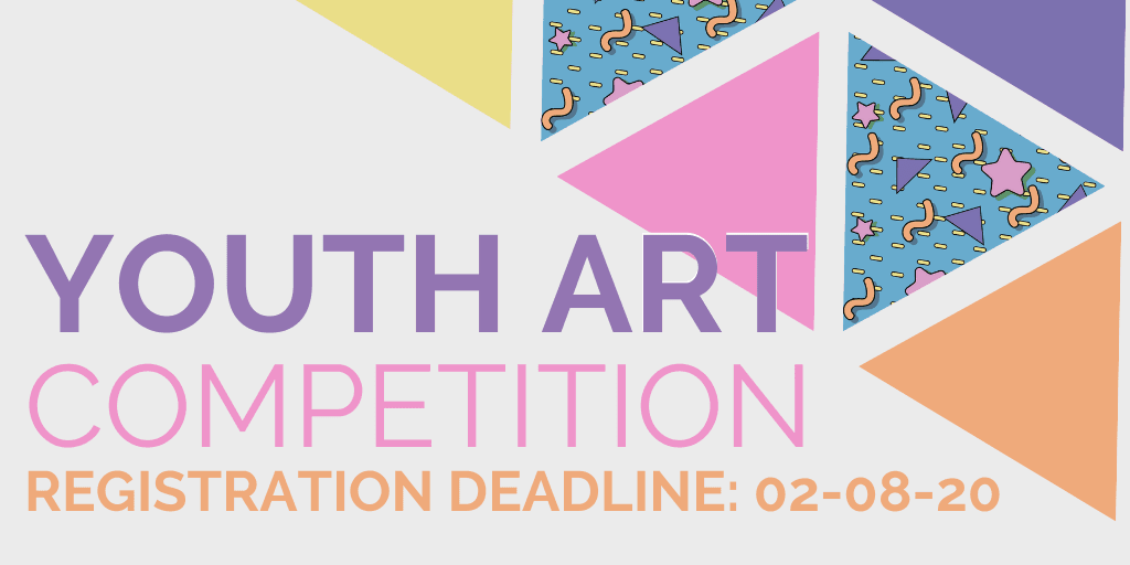 "banner, ""youth art competition"""