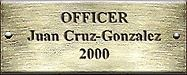 Officer Juan Cruz-Gonzalez 2000