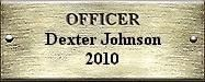 Officer Dexter Johnson 2010