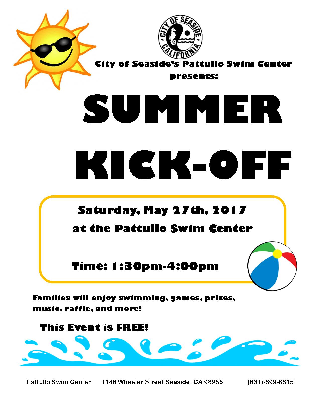 Summer Kick-Off 2017 Flyer