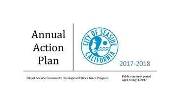 Annual Action Plan cover page cropped