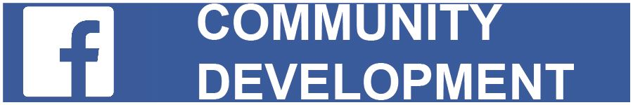 Community Development Facebook  banner