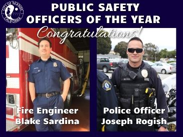Officer of Year website