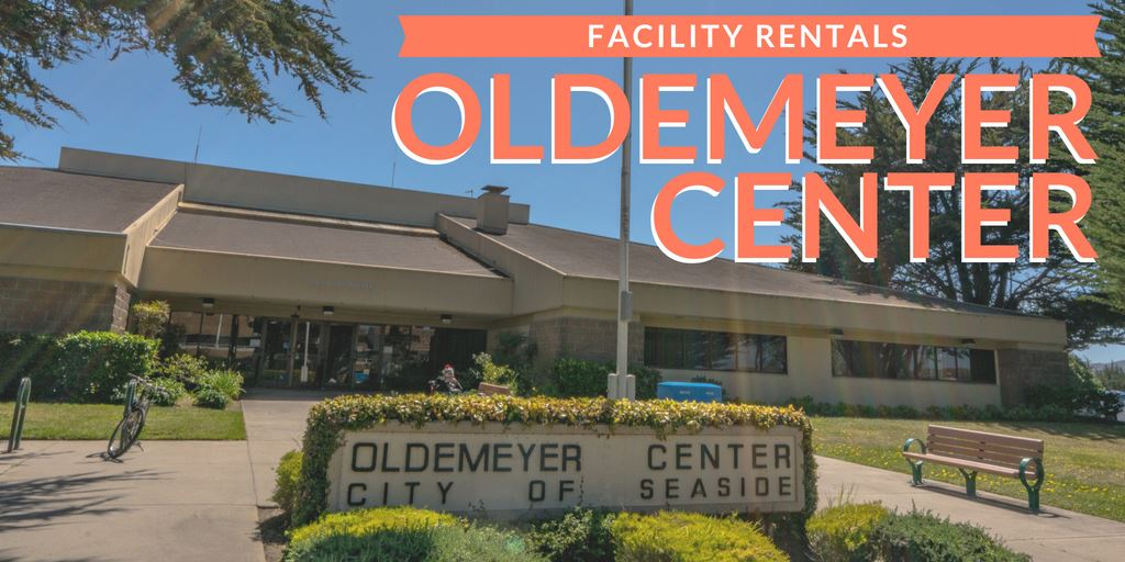 Oldemeyer Center Rental flyer