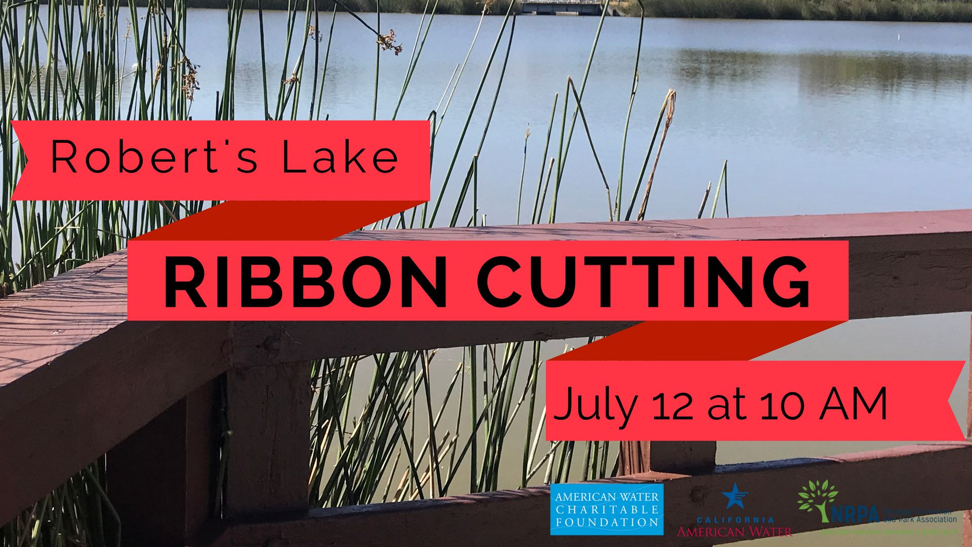 Roberts Lake Ribbon Cutting