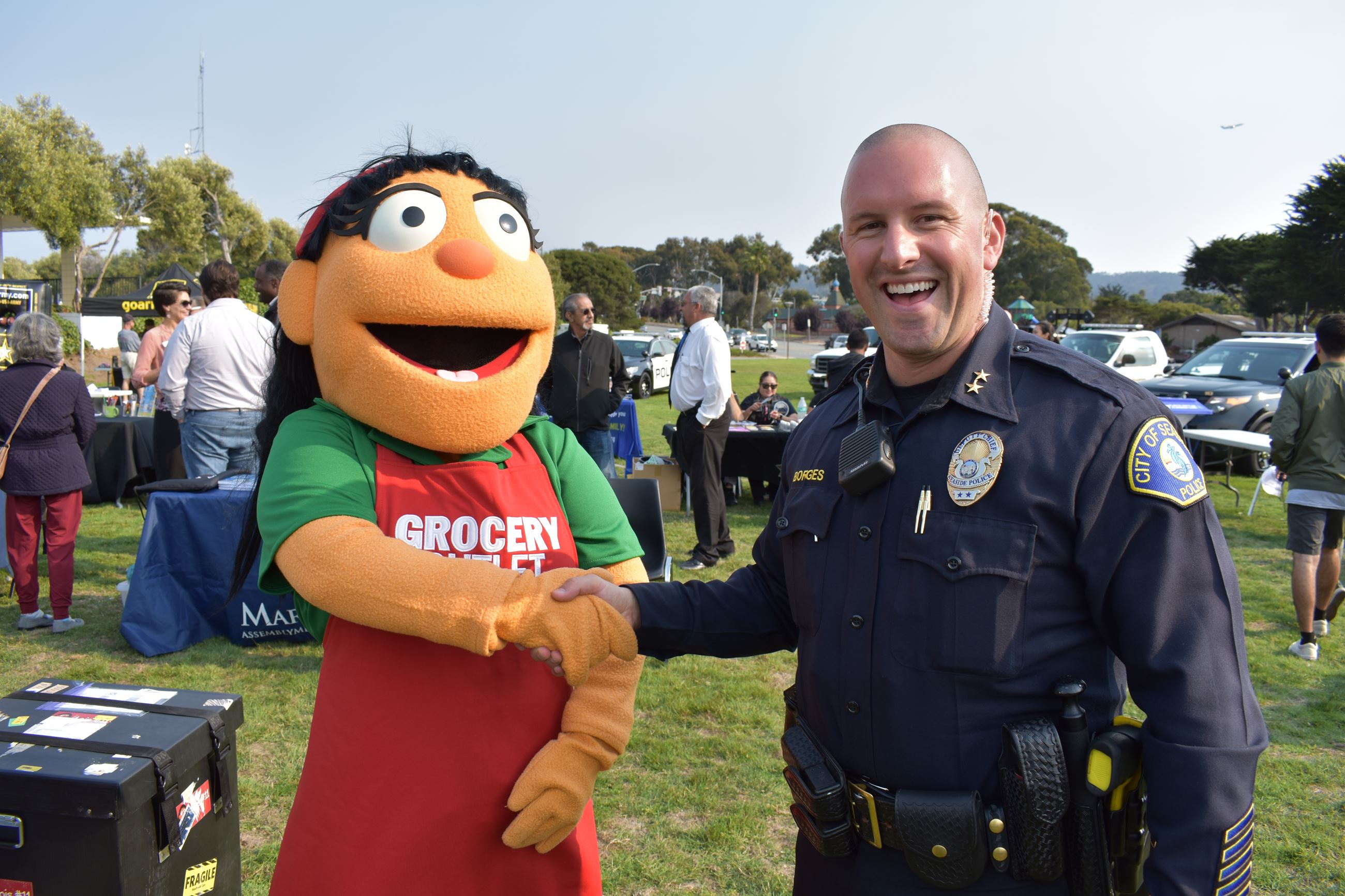 Photo from National Night Out event