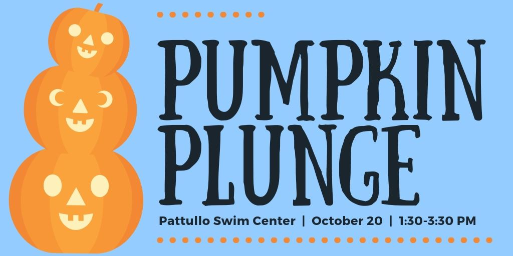 Pumpkin Plunge flyer