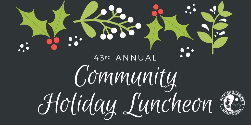 Banner for Community Holiday Luncheon