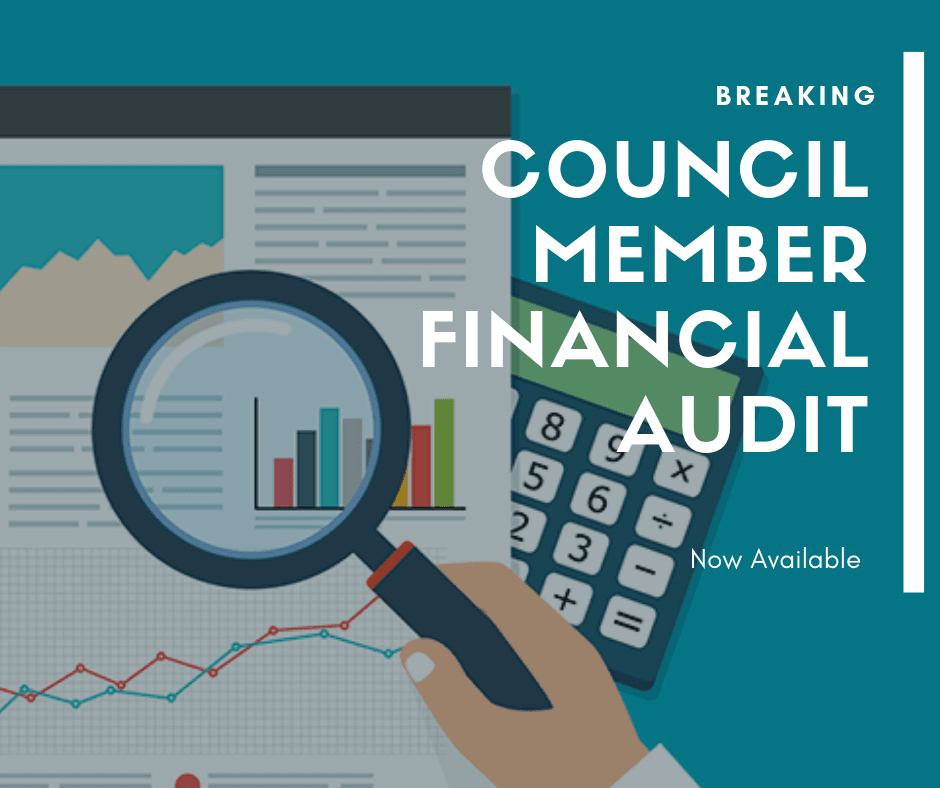Council Member Financial Audit fb