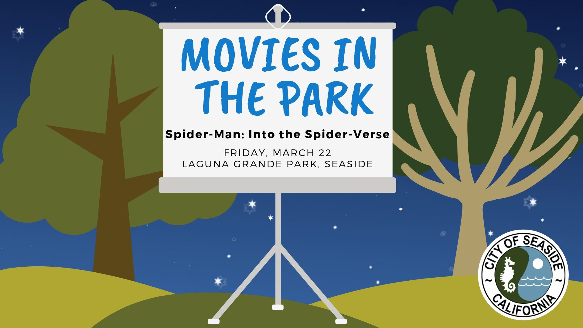 Banner for Movies in the Park