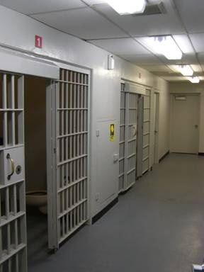 Temporary Prisoner Holding Facility Cells