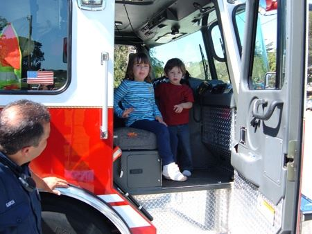 Kids in a Fire Truck