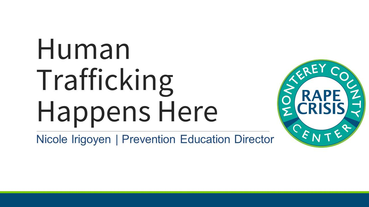 Powerpoint for Human Trafficking Happens Here Opens in new window