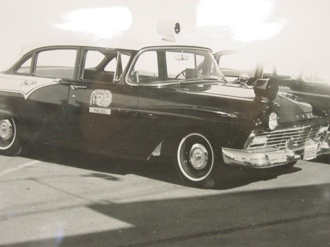 1957 Ford Fairlaine Seaside Police Car